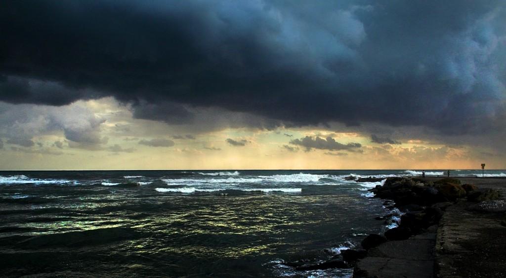 la calma prima della tempesta Foce dell'Entella Chiavari Simone Civita
