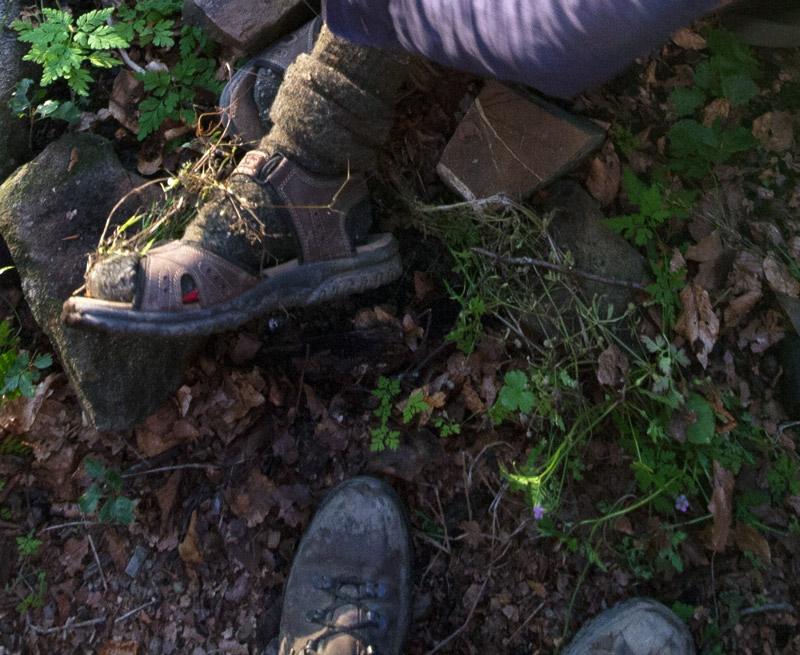 scarpa via degli dei