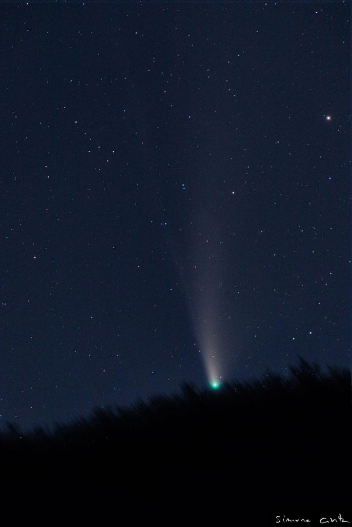 L'ultimo tramonto della cometa
