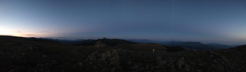 Panorama monte Aiona